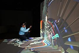 飞机发动机三维视景系统