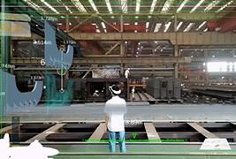 上海外高桥造船厂:5G+云AR系统